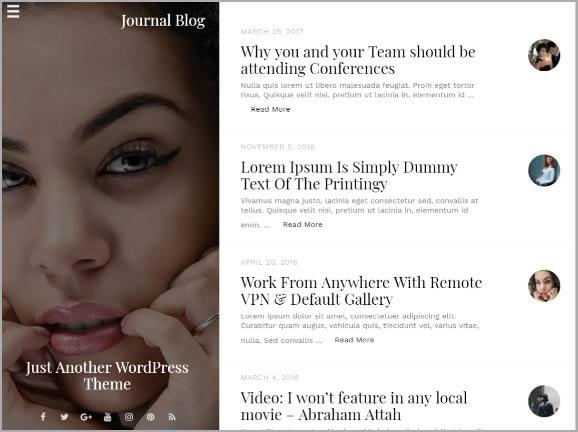 Блог Journal Blog